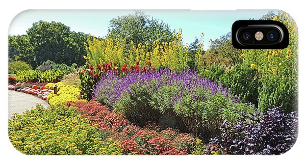Floral Display At Cheekwood Gardens IPhone Case
