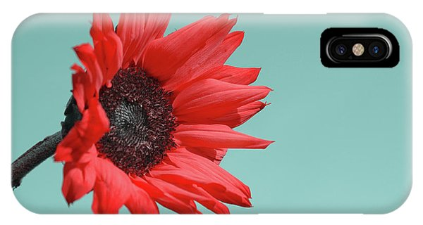 Red Flower iPhone Case - Floral Energy by Aimelle