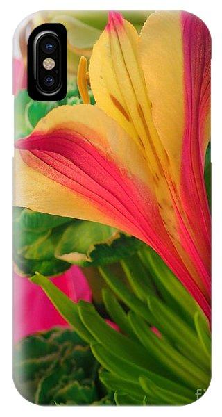 Floral Fusion IPhone Case