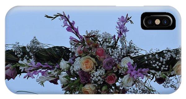 Exploramum iPhone Case - floral love in the Kenyan sky by Exploramum Exploramum