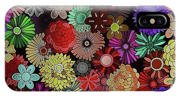 iPhone Case - Floral Love by Lisa Marie Towne