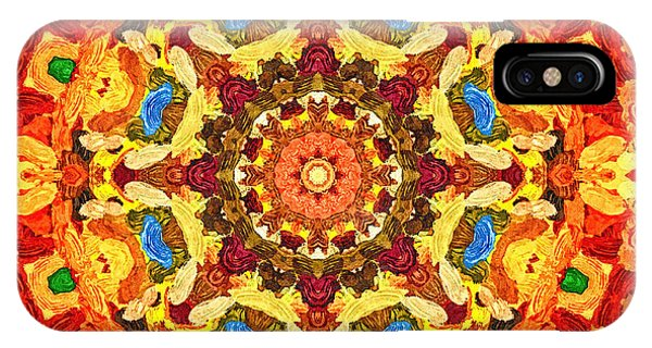 Mandala Of The Sun IPhone Case