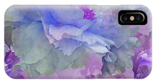 Floral Potpourri With Peonies 4 IPhone Case