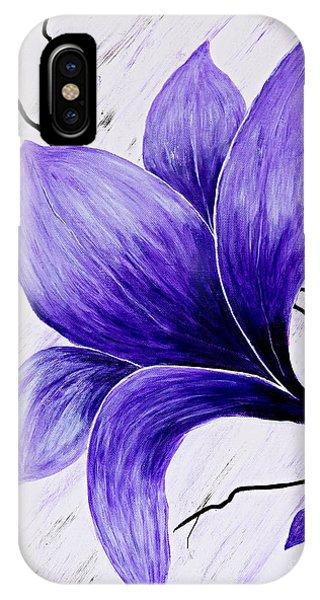 Floral Slumber IPhone Case