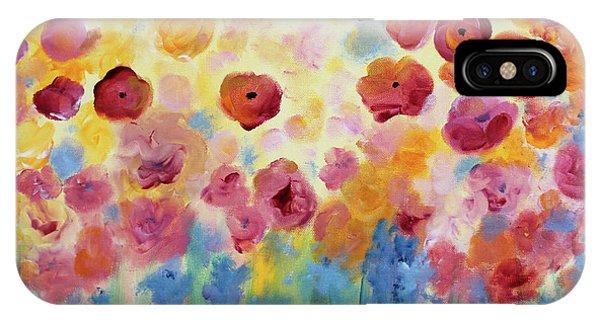 Floral Splendor II IPhone Case