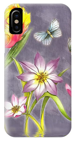 Floral Supreme IPhone Case