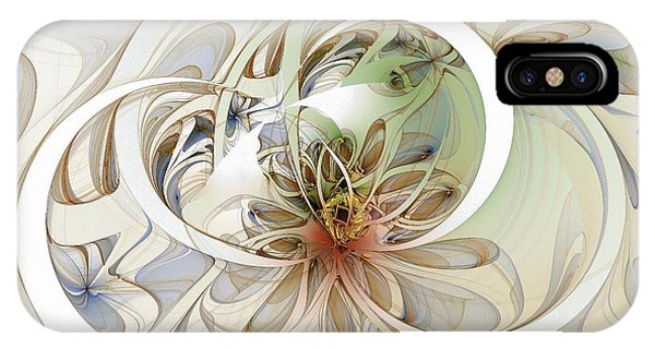 Floral Swirls IPhone Case