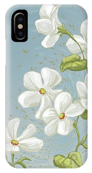 Floral Whorl IPhone Case