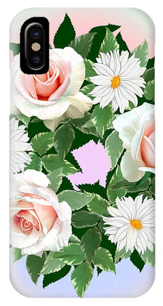 Floral Wreath IPhone Case