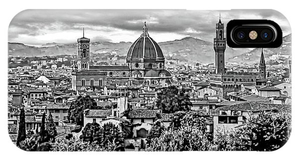 Florence 2 Bw IPhone Case