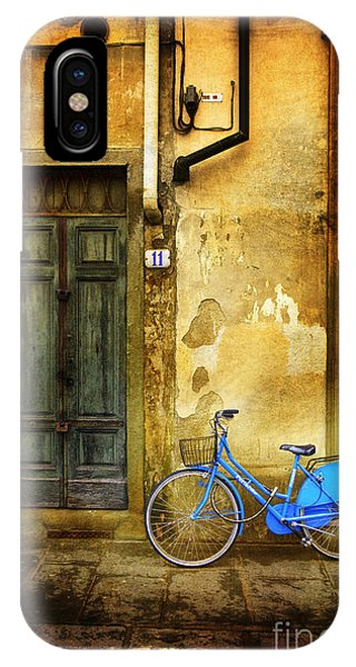 Florence Blue Bicycle IPhone Case