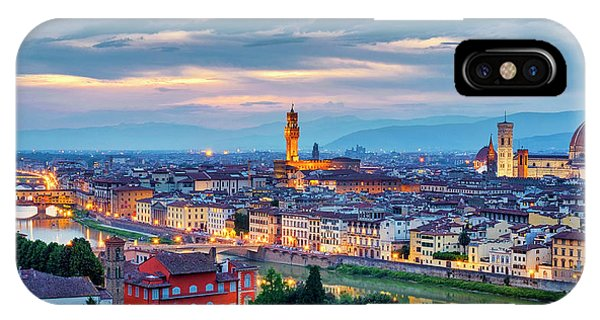 IPhone Case featuring the photograph Florence by Fabrizio Troiani