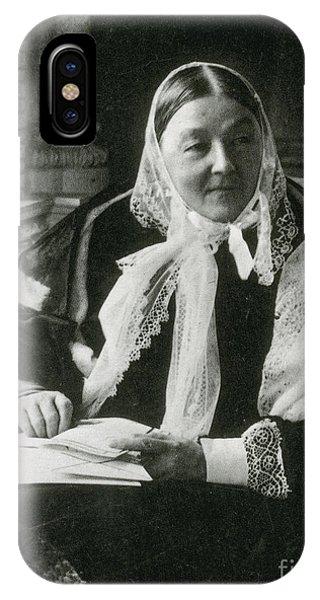 Florence Nightingale, English Nurse IPhone Case