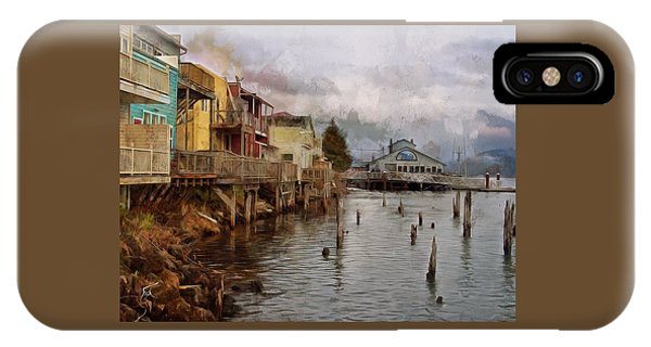 Scene On The Siuslaw  IPhone Case