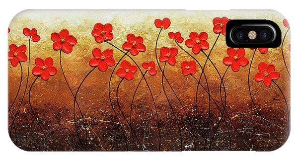 Flores De Mi Jardin IPhone Case