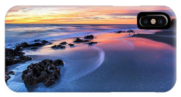 Florida Beach Sunset 4 IPhone Case