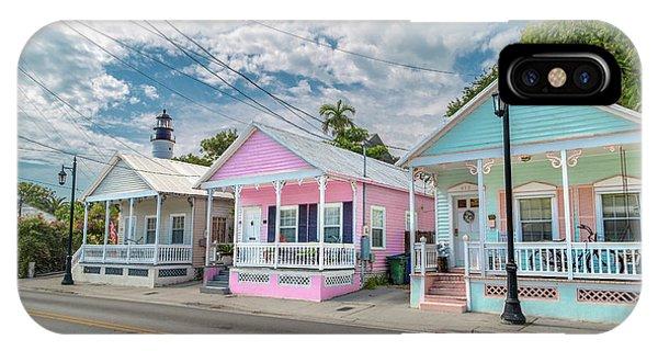Lighthouse Wall Decor iPhone Case - Florida Keys Flavor by Betsy Knapp
