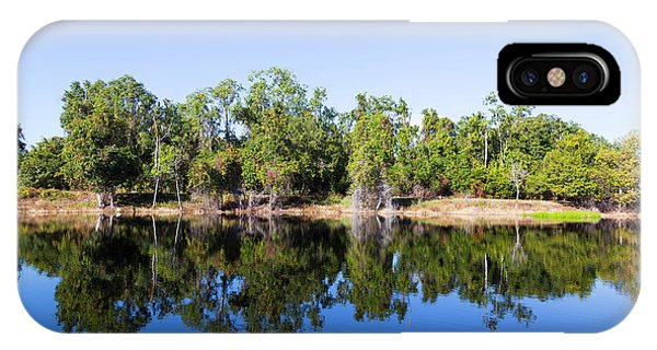 Florida Lake And Trees IPhone Case