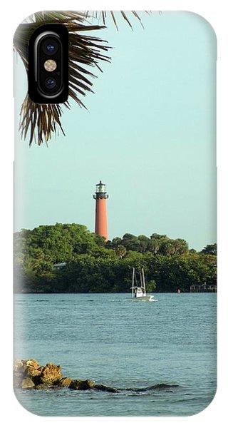 Florida Lighthouse 3 IPhone Case