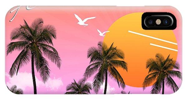 Venice Beach iPhone Case - Florida  by Mark Ashkenazi