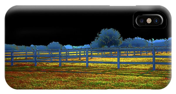 Florida Ranchland IPhone Case