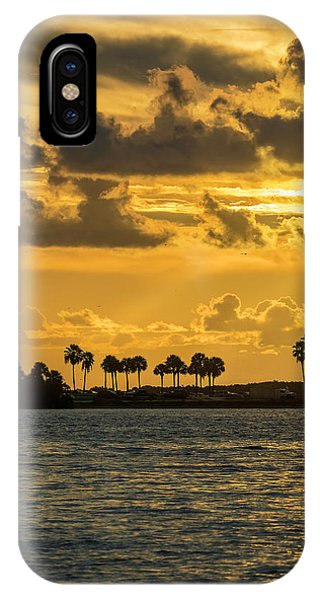 Powerboat iPhone Case - Florida Sunset-1 by Marvin Spates