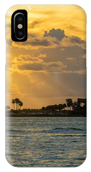 Powerboat iPhone Case - Florida Sunset-3 by Marvin Spates