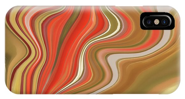 Flow Visualization iPhone Case - Flow  by Art Spectrum