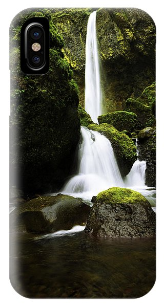 Waterfall iPhone Case - Flow by Chad Dutson