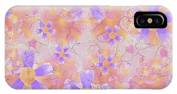 Flower Clown Pattern IPhone Case