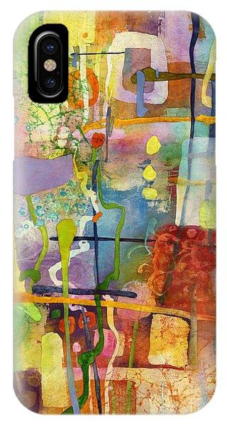 Greenery iPhone Case - Flower Dance by Hailey E Herrera