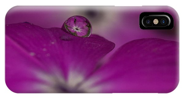 Flower Drop IPhone Case