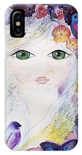 Flower Fairy IPhone Case