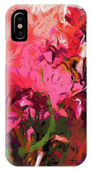 Flower Flames Soul Pink IPhone Case