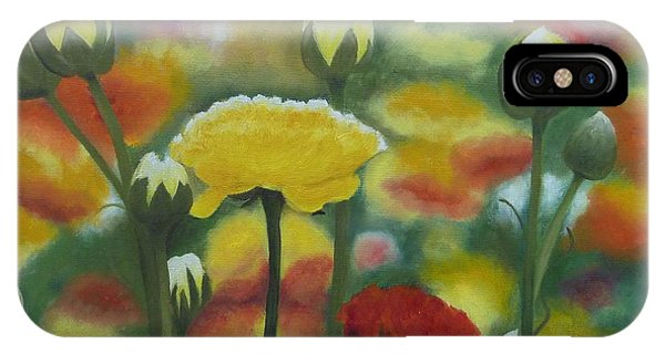 Flower Focus IPhone Case