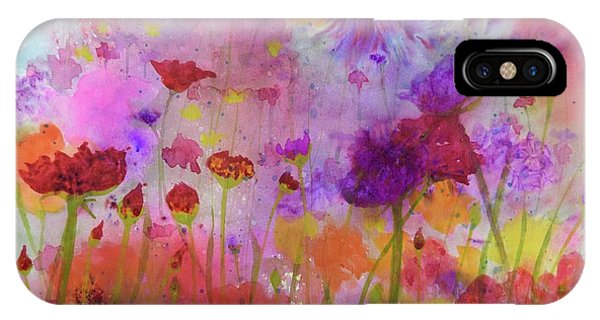 Flower Frenzy  IPhone Case