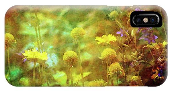 Flower Garden 1310 Idp_2 IPhone Case