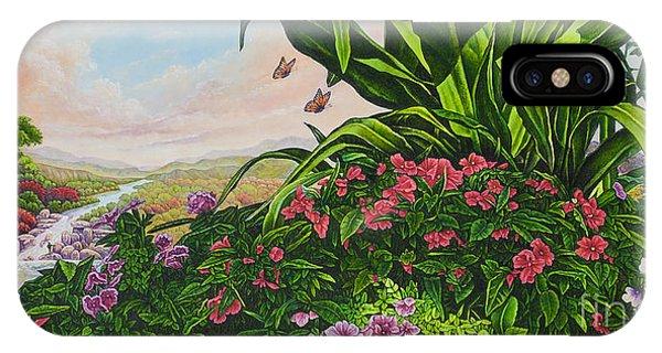 Flower Garden Vii IPhone Case