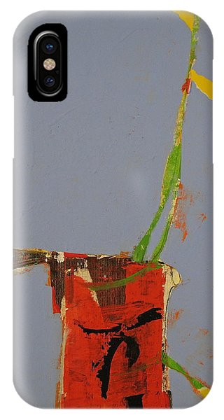 Flower In Pitcher- Abstract Of Course IPhone Case