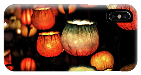 Flower Lamps IPhone Case
