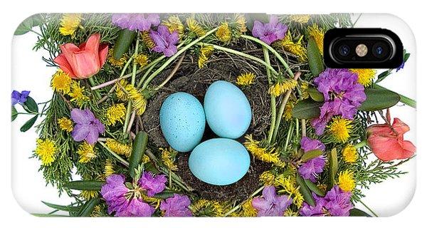 Flower Nest IPhone Case