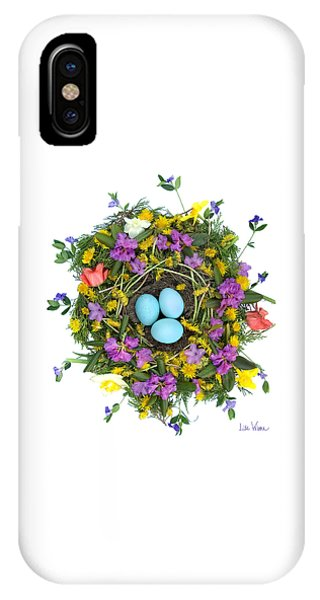 Flower Nest IPhone Case