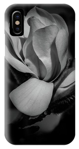 Flower Noir IPhone Case