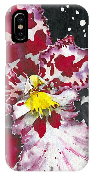 Flower Orchid 11 Elena Yakubovich IPhone Case