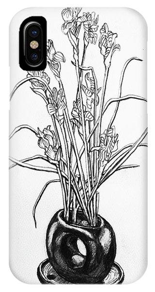 iPhone Case - Flower Pot by Rich Travis