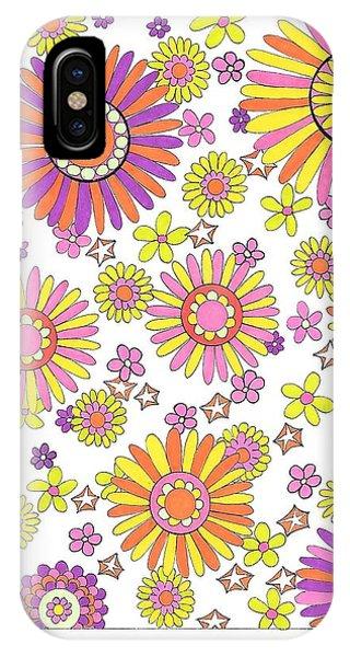 Flower Power 1 IPhone Case