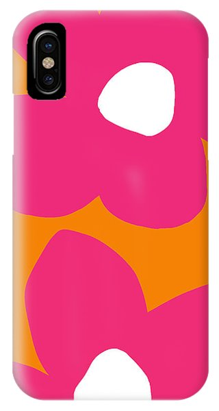Contemporary Floral iPhone Case - Flower Power 2- Art By Linda Woods by Linda Woods
