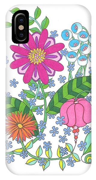 Flower Power 3 IPhone Case