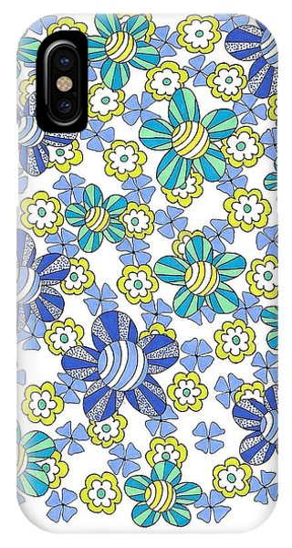 Flower Power 7 IPhone Case