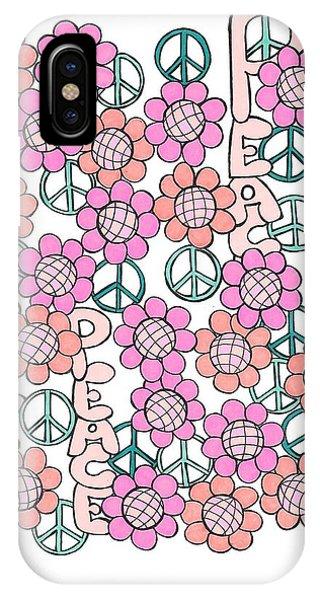 Flower Power 8 IPhone Case